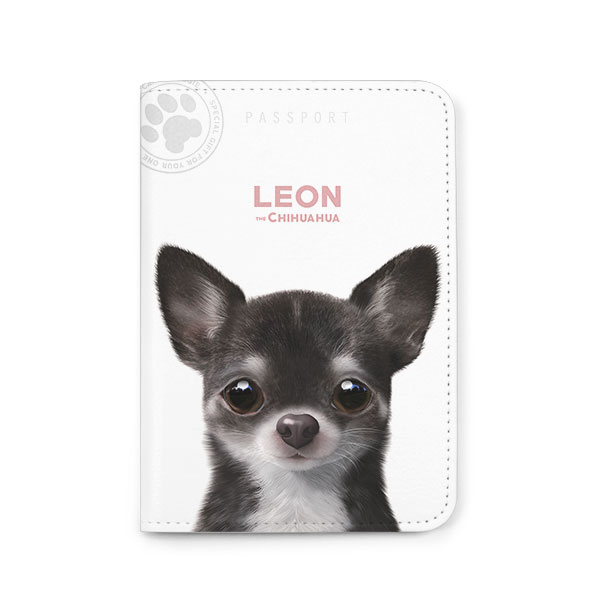 Leon the Chihuahua Passport Case