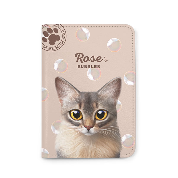 Rose's Bubbles Passport Case