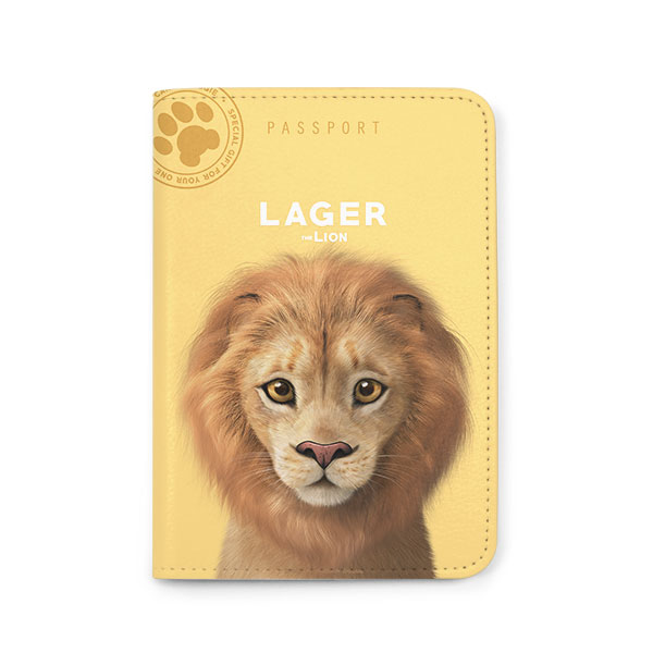 Lager the Lion Passport Case