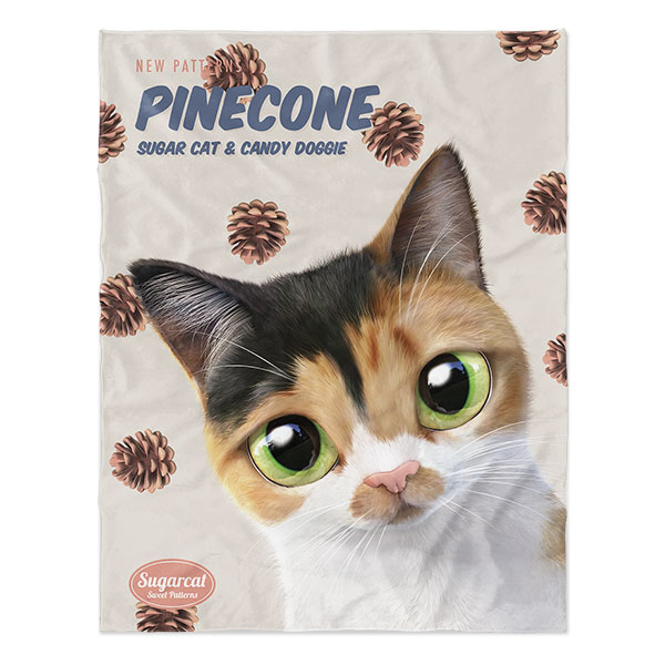 Pangyee's Pinecone New Patterns Soft Blanket