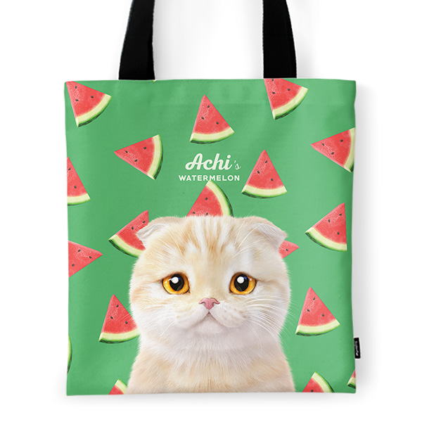 Achi's Watermelon Tote Bag