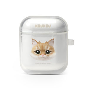 Kkukku Face AirPod Case