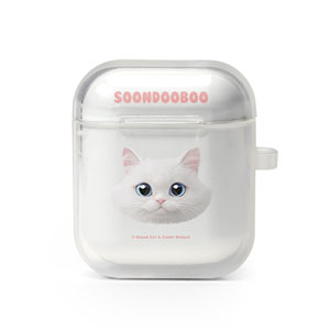 Soondooboo Face AirPod Case
