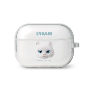 Byiulee the American Curl Face AirPod Pro TPU Case
