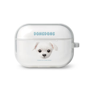 DongDong Face AirPod Pro TPU Case