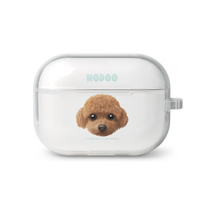 Hodoo the Poodle Face AirPod Pro TPU Case