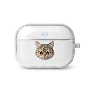 Leo the British Shorthair Face AirPod Pro TPU Case