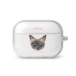 Mong the Siamese Face AirPod Pro TPU Case