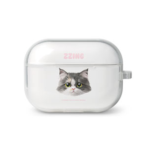 Zzing Face AirPod Pro TPU Case