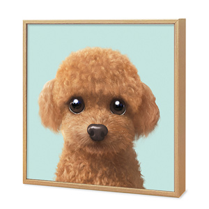 Hodoo the Poodle Artframe
