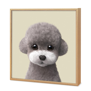 Earlgray the Poodle Artframe