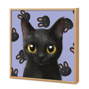 Bingo's Black Rabbit Artframe