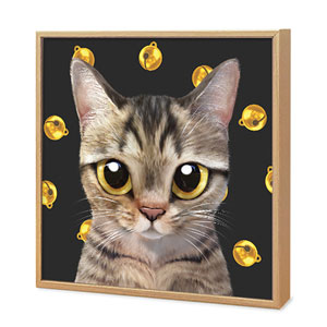 Dots's Cat Bell Artframe
