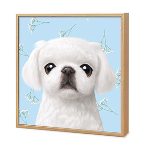 Happy's Baby Breath Flower Artframe