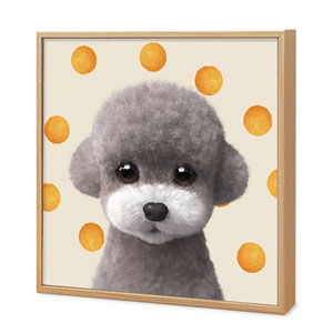 Earlgray the Poodle's Cheese Ball Artframe