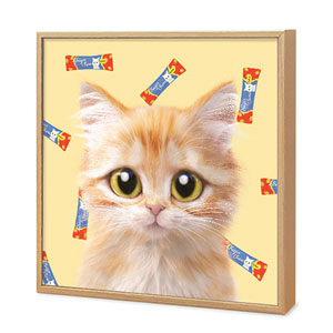 Raon the Kitten's Churu Artframe