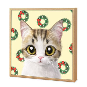Yeona's Christmas Wreath Artframe
