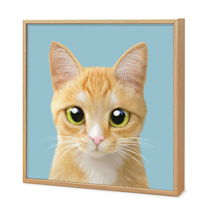 Roy the Cheese Tabby Artframe
