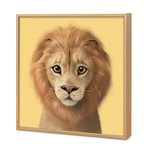 Lager the Lion Artframe
