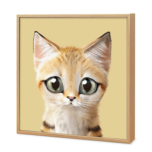 Sandy the Sand cat Artframe