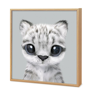 Yungki the Snow Leopard Artframe