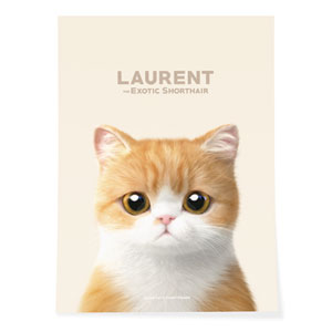Laurent Art Poster
