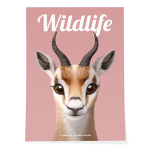 Gazelle the Thomson's Gazelle Magazine Art Poster