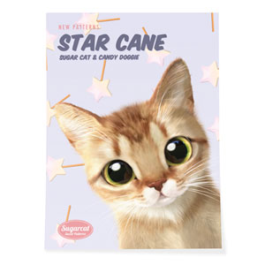 Byeol's Star Cane New Patterns Art Poster