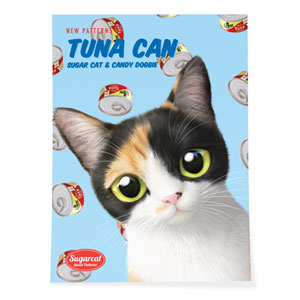 Chamchi's Tuna Can New Patterns Art Poster