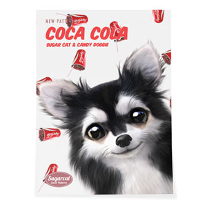 Cola's Cocacola New Patterns Art Poster