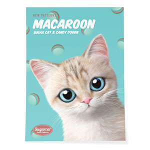 Dione's Macaroon New Patterns Art Poster