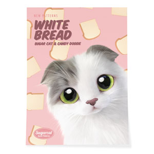 Duna's White Bread New Patterns Art Poster