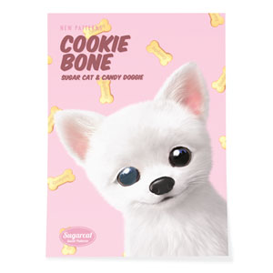 Haebyeong's Cookie Bone New Patterns Art Poster