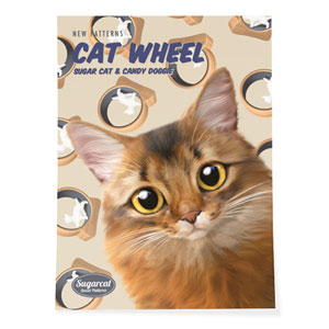 Horus's Catwheel New Patterns Art Poster