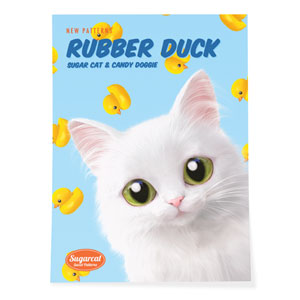 Ria's Rubber Duck New Patterns Art Poster