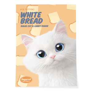 Soondooboo's White Bread New Patterns Art Poster