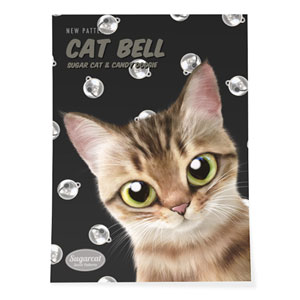 Wellbeing's Cat Bell New Patterns Art Poster