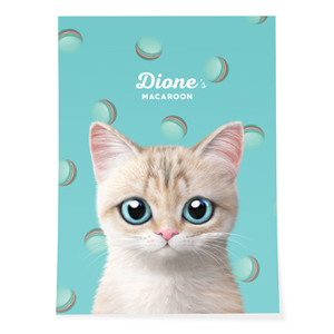 Dione's Macaroon Art Poster