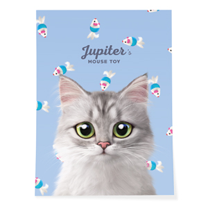 Jupiter's Mouse Toy Art Poster