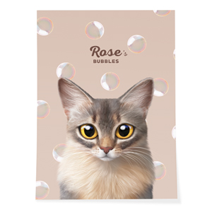 Rose's Bubbles Art Poster