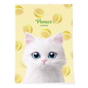 Venus's Lemon Art Poster
