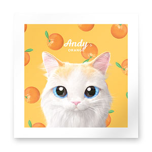 Andy's Orange Art Print