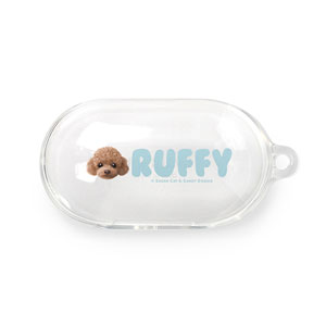 Ruffy the Poodle Face Buds TPU Case