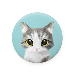 Gurumi Mirror Button 58mm