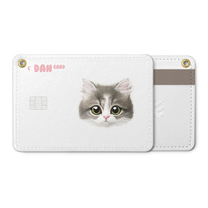 Dan the Kitten Face Card Holder