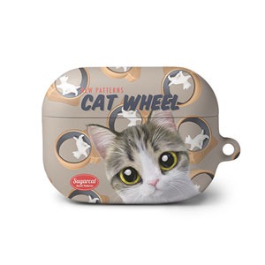 Kung's Cat Wheel New Patterns AirPod PRO Hard Case