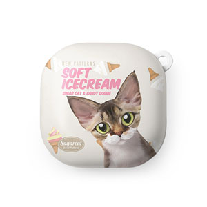 Fany's Soft Icecream New Patterns Buds Live Hard Case