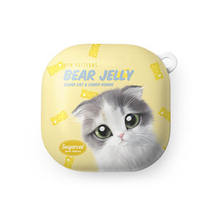 Joy the Kitten's Gummy Baers Jelly New Patterns Buds Live Hard Case