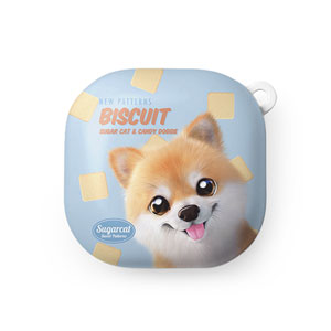 Tan the Pomeranian's Biscuit New Patterns Buds Live Hard Case