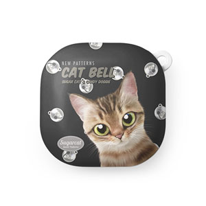 Wellbeing's Cat Bell New Patterns Buds Live Hard Case